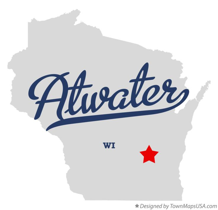Map of Atwater Wisconsin WI