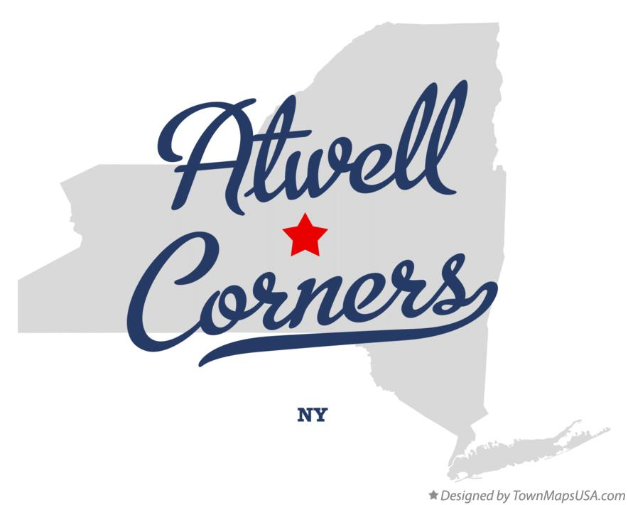 Map of Atwell Corners New York NY