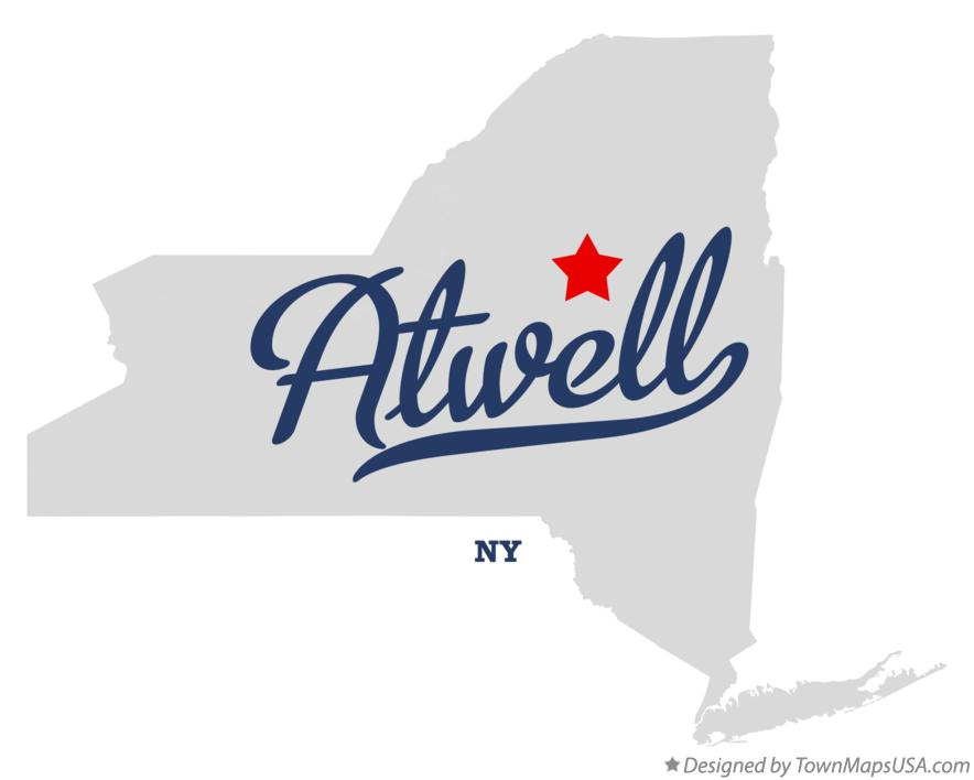 Map of Atwell New York NY