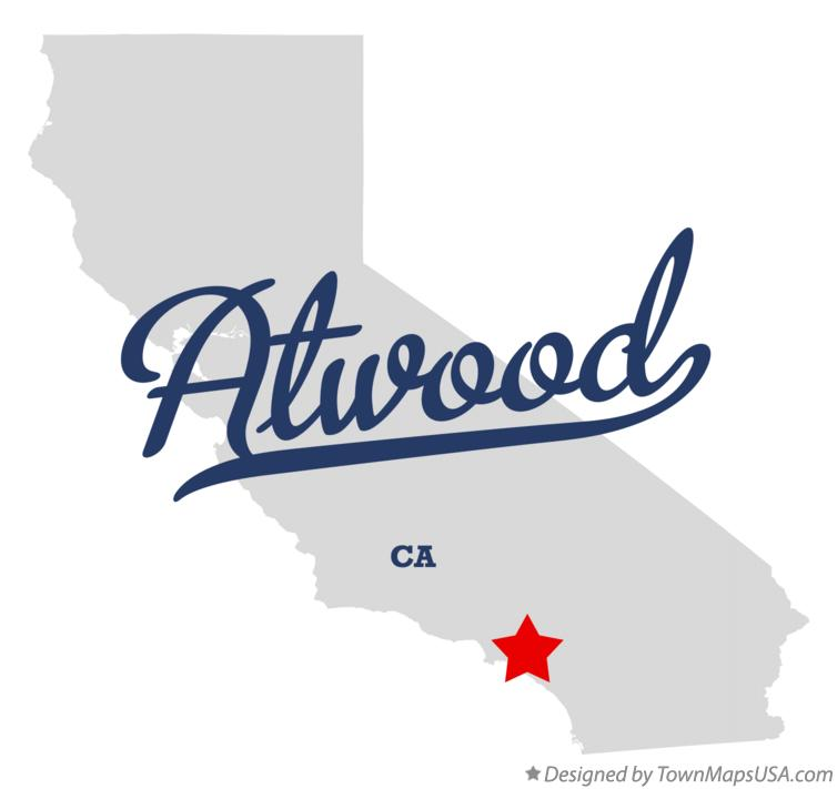 Map of Atwood California CA