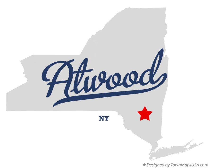 Map of Atwood New York NY