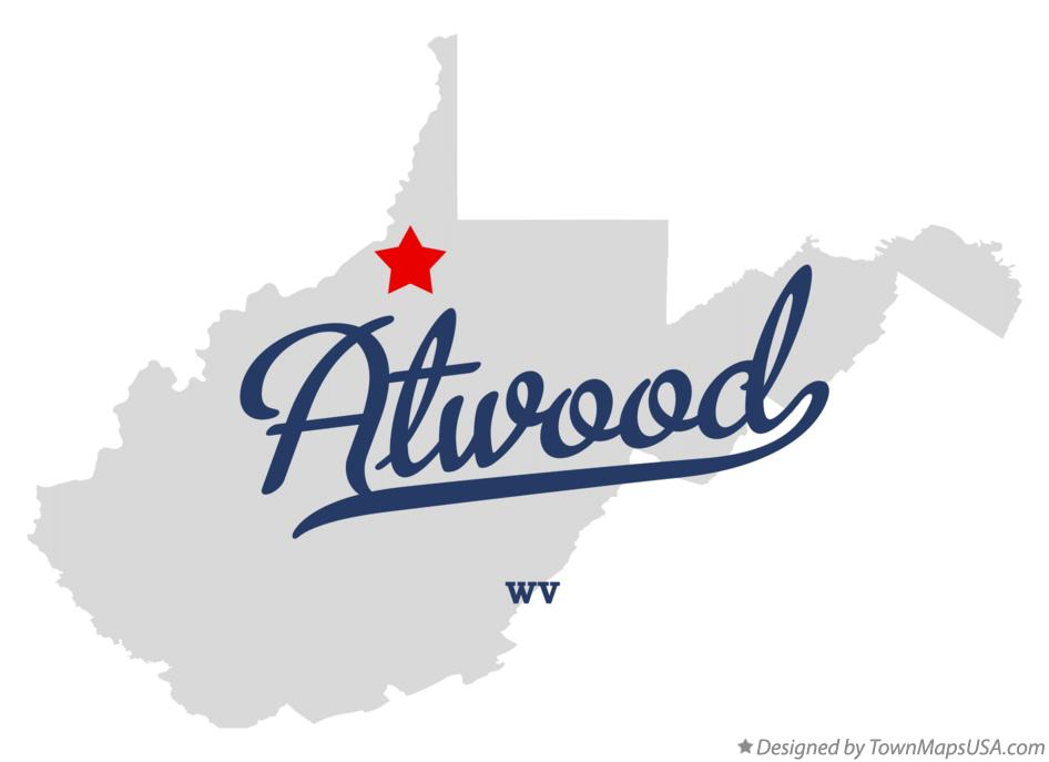 Map of Atwood West Virginia WV