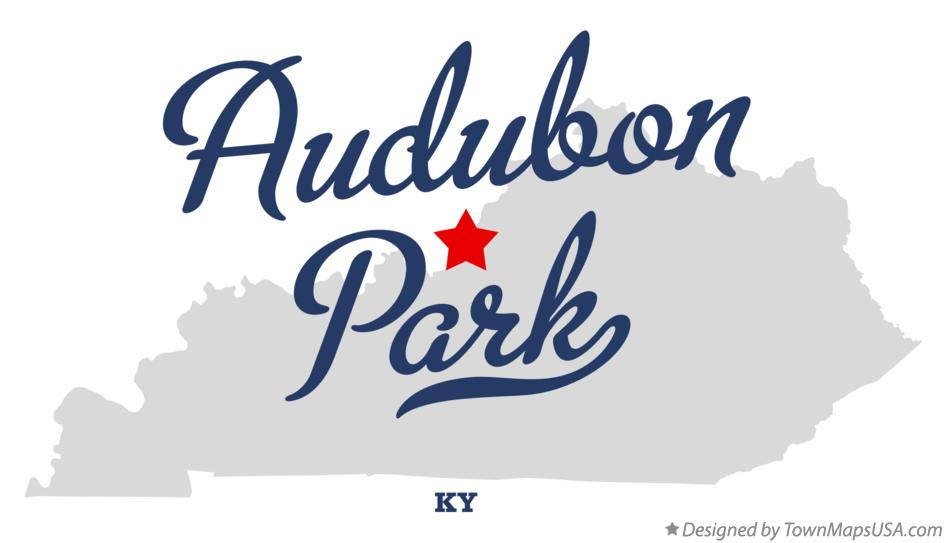 Map of Audubon Park Kentucky KY