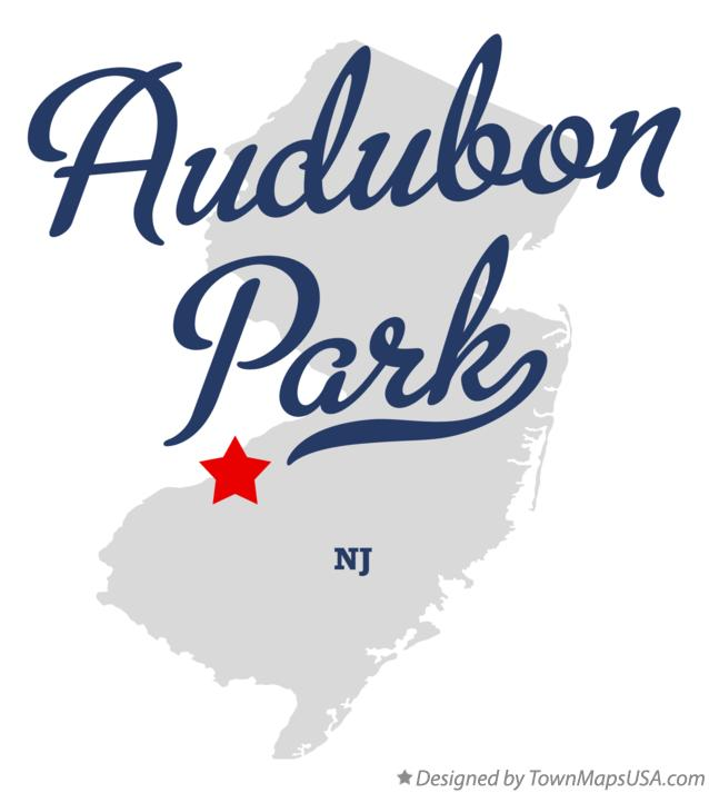 Map of Audubon Park New Jersey NJ