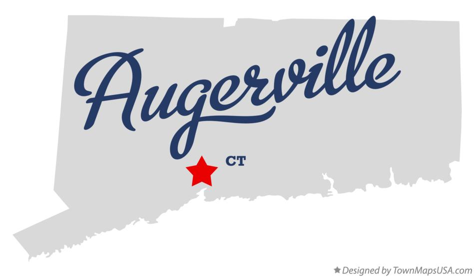 Map of Augerville Connecticut CT