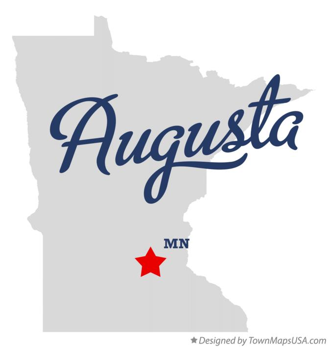 Map of Augusta Minnesota MN
