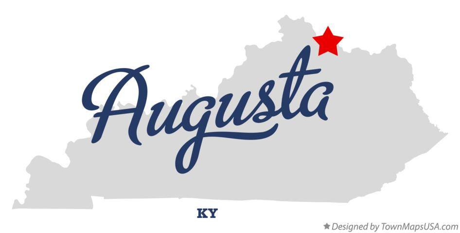 Map of Augusta Kentucky KY