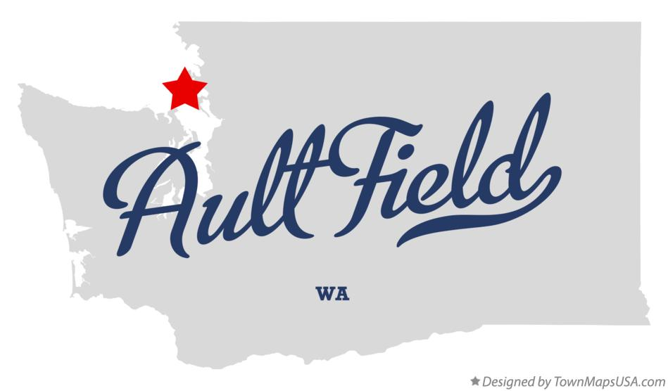 Map of Ault Field Washington WA