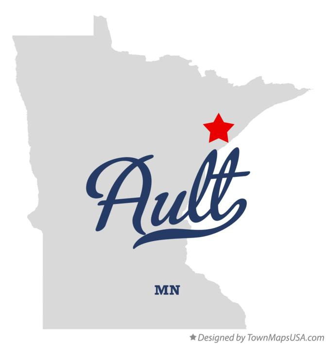 Map of Ault Minnesota MN