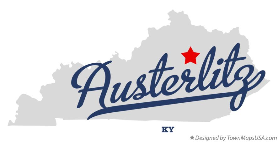 Map of Austerlitz Kentucky KY