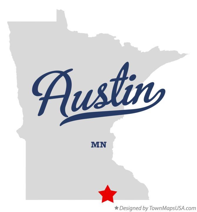 map of austin minnesota Map Of Austin Mn Minnesota map of austin minnesota