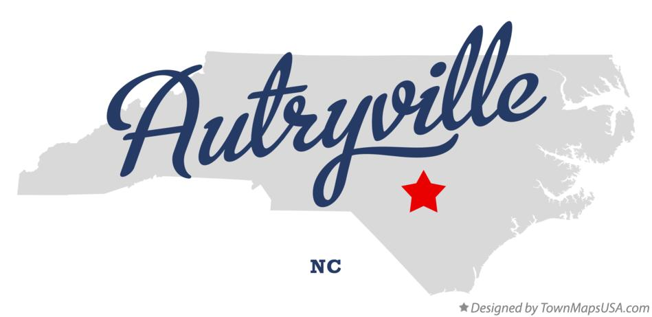 Map of Autryville North Carolina NC