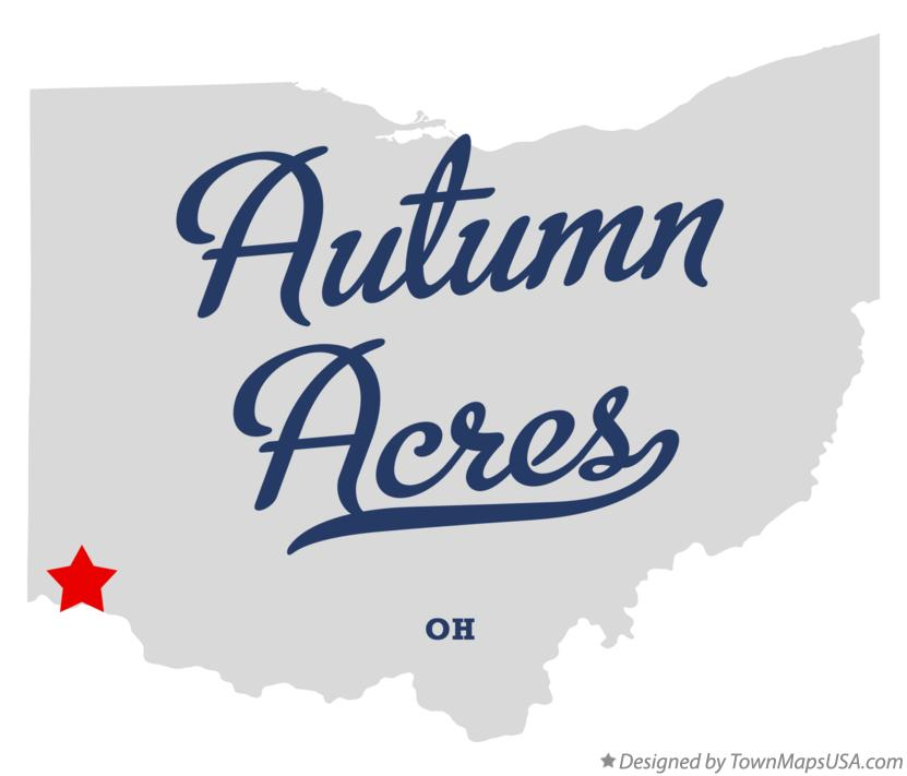 Map of Autumn Acres Ohio OH