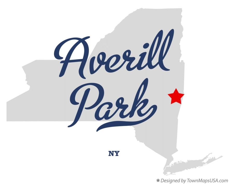 Map of Averill Park New York NY
