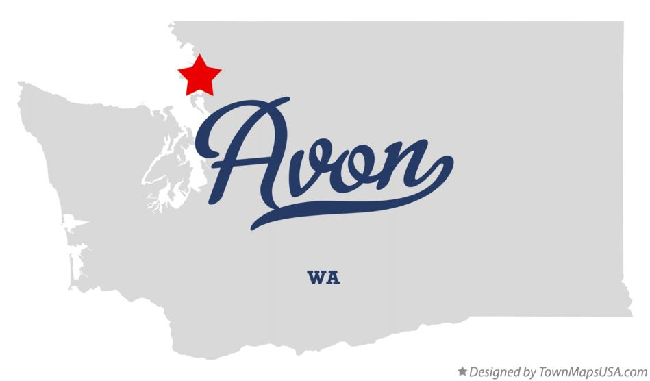 Map of Avon Washington WA