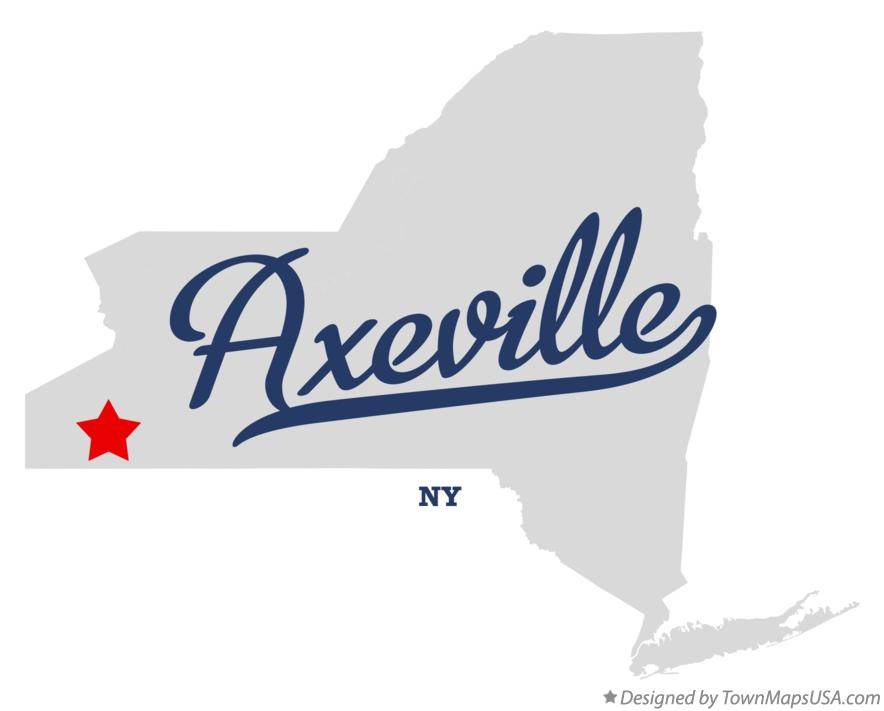 Map of Axeville New York NY