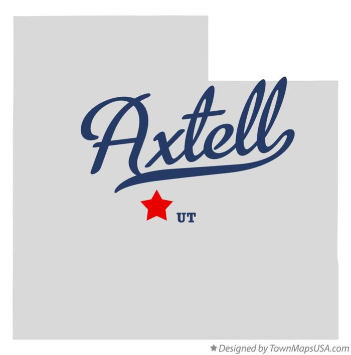 Map of Axtell Utah UT