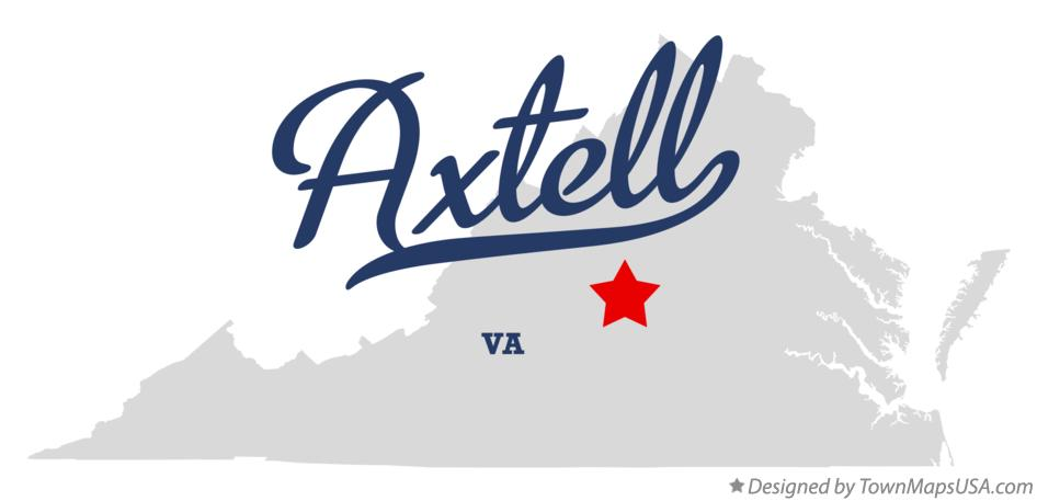 Map of Axtell Virginia VA