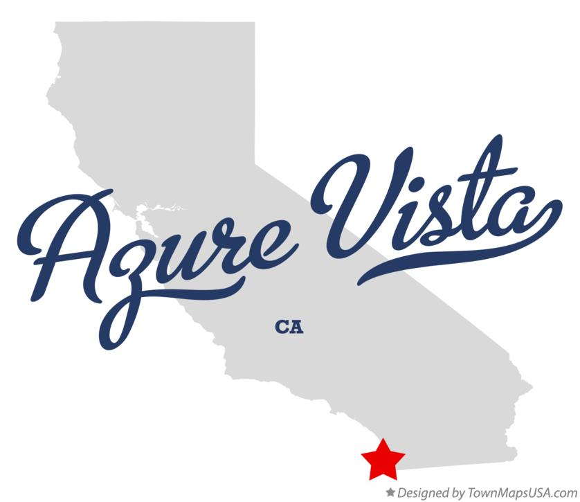 Map of Azure Vista California CA