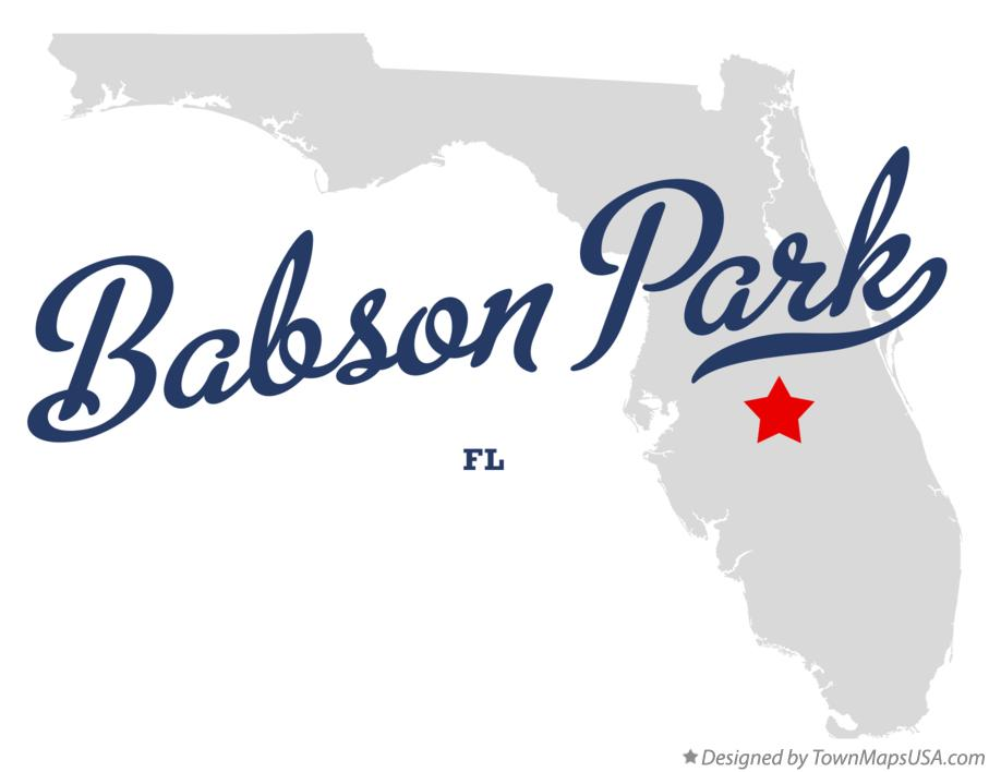 Map of Babson Park Florida FL