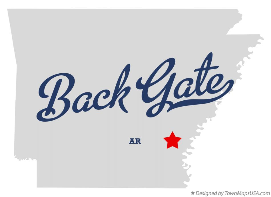 Map of Back Gate Arkansas AR