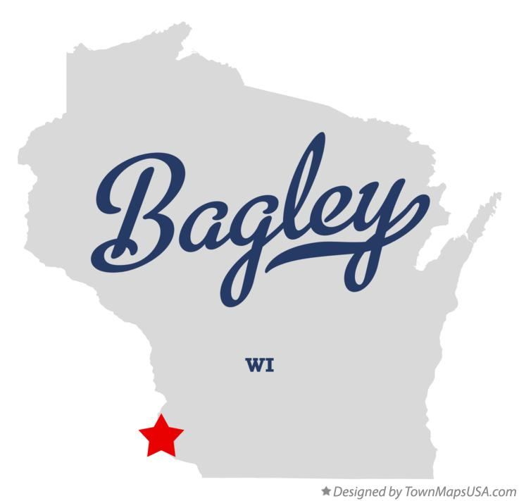 Map of Bagley Wisconsin WI