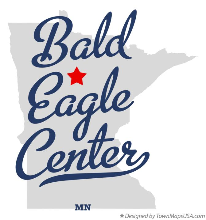Map of Bald Eagle Center Minnesota MN