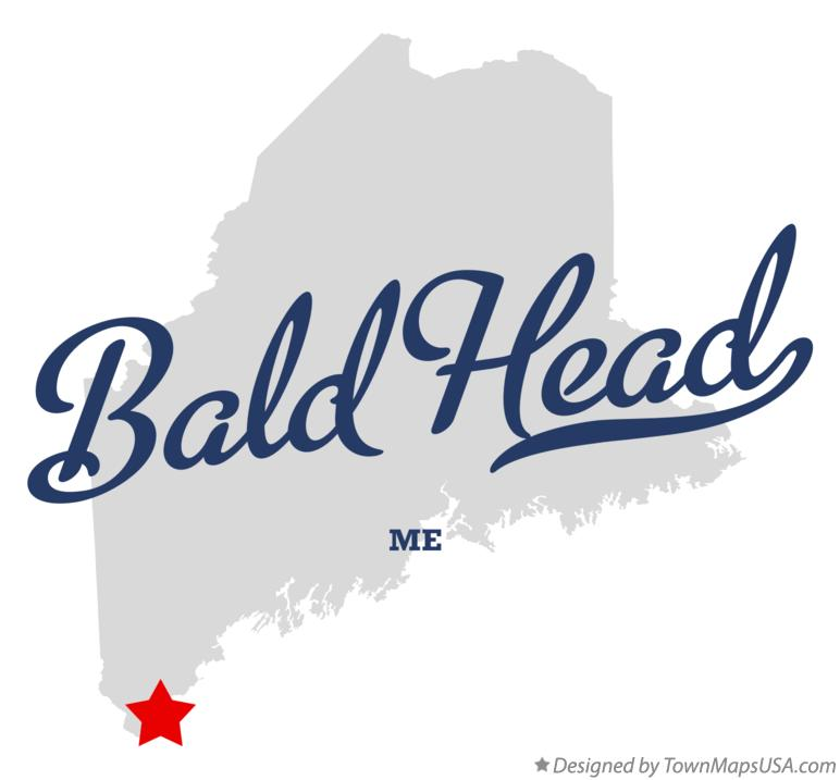 Map of Bald Head Maine ME