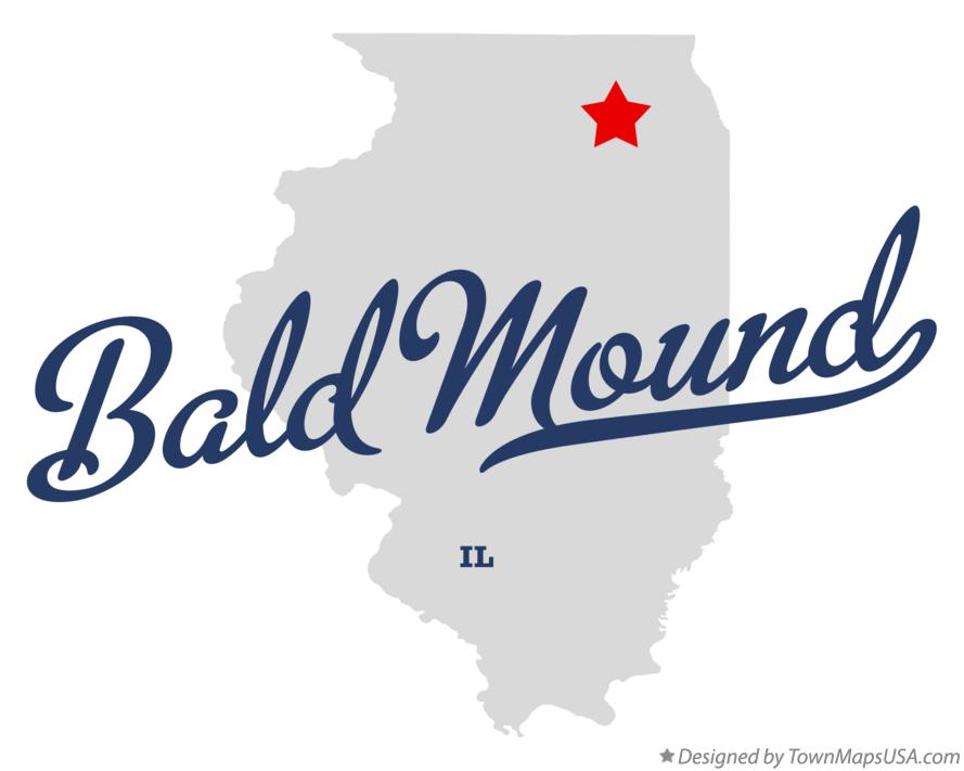 Map of Bald Mound Illinois IL