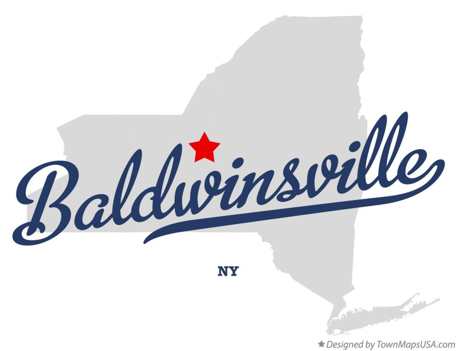 Map of Baldwinsville New York NY