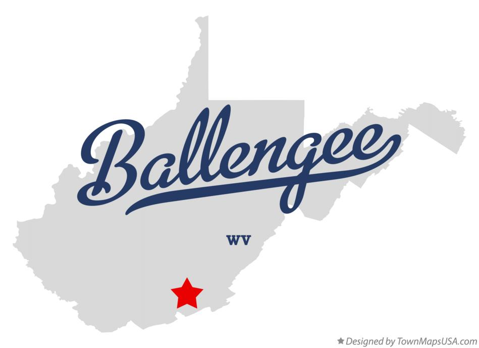 Map of Ballengee West Virginia WV