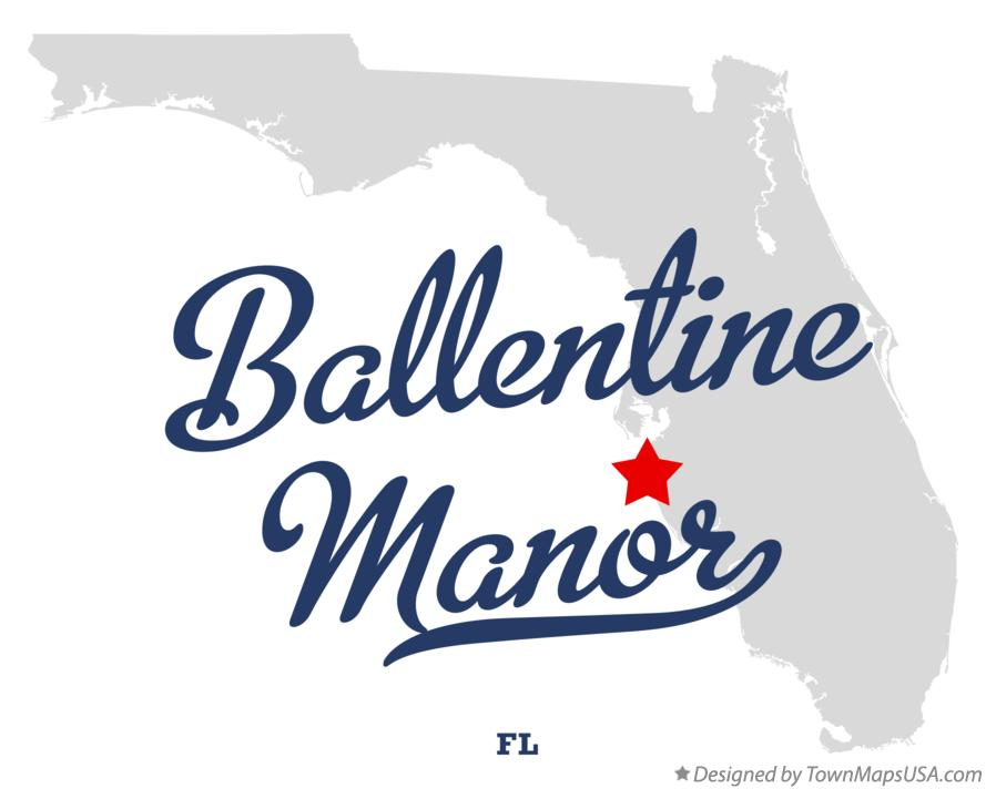 Map of Ballentine Manor Florida FL