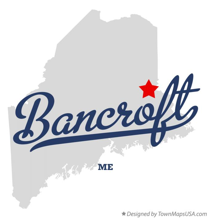 Map of Bancroft Maine ME