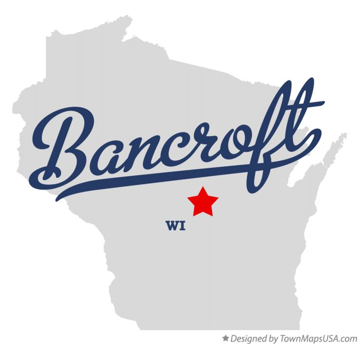 Map of Bancroft Wisconsin WI
