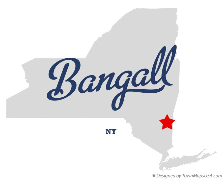 Map of Bangall New York NY