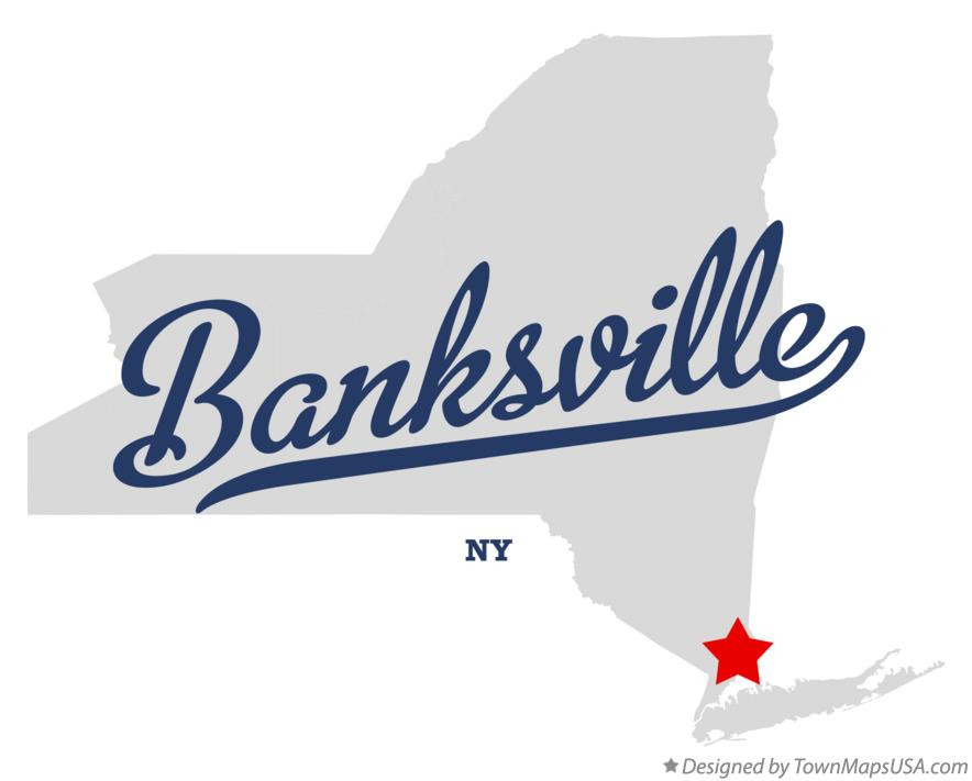 Map of Banksville New York NY