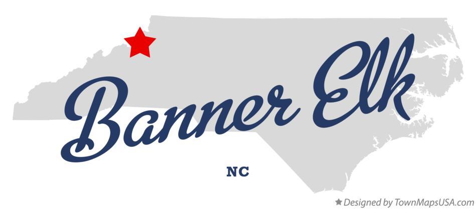 Map Of Banner Elk Nc North Carolina