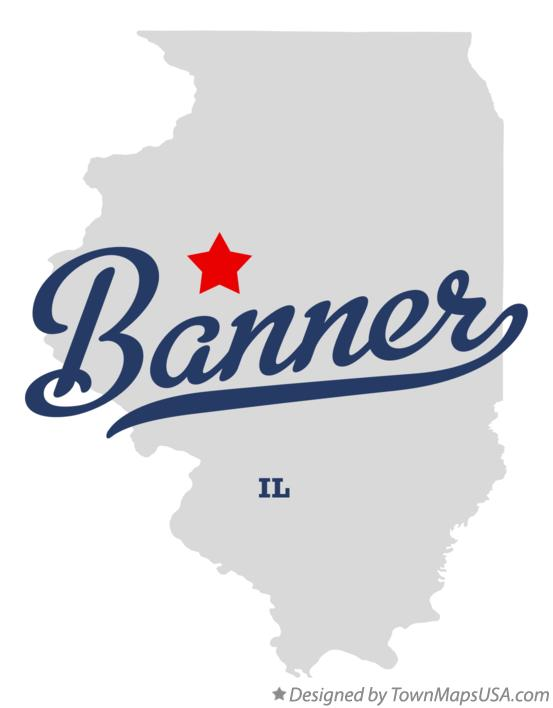 Map of Banner Illinois IL