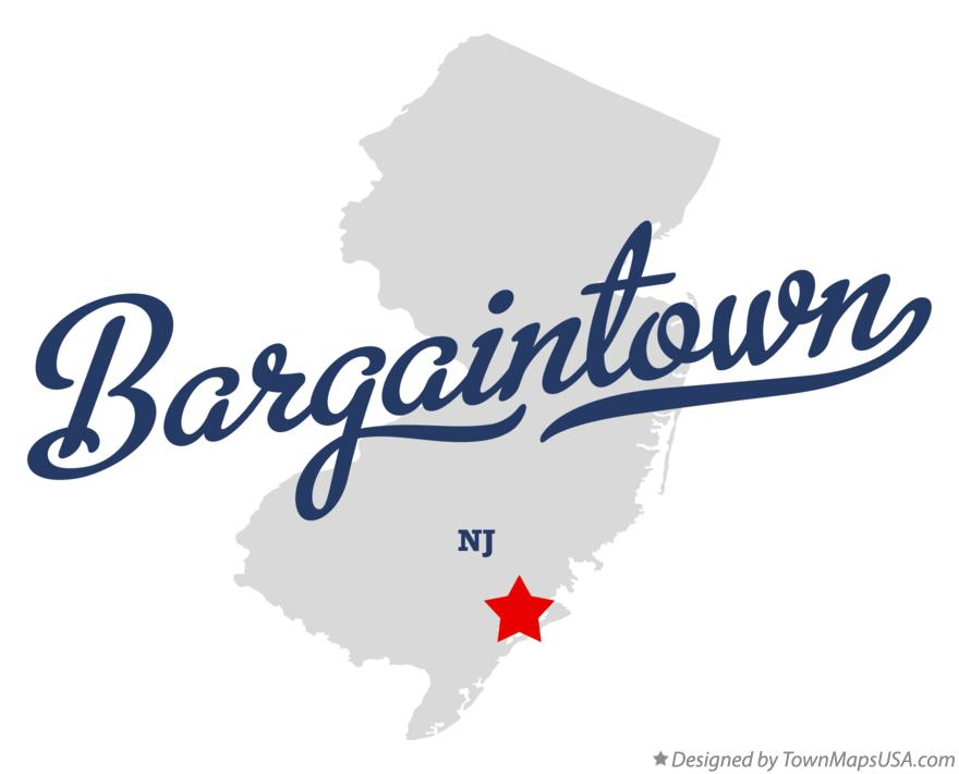 Map of Bargaintown New Jersey NJ