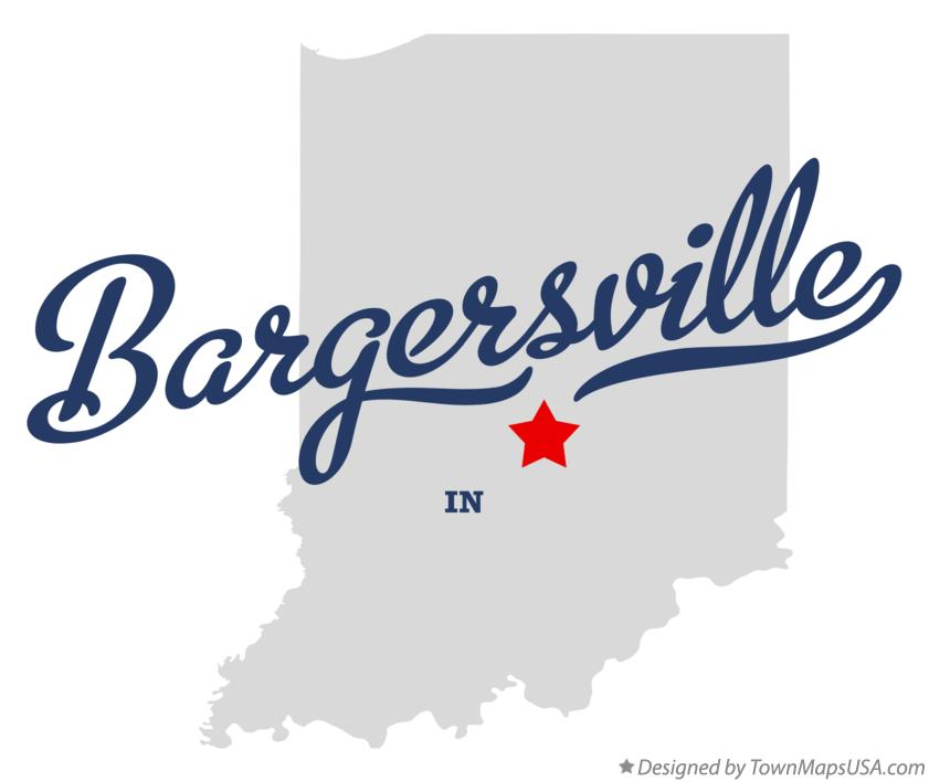 Map of Bargersville Indiana IN