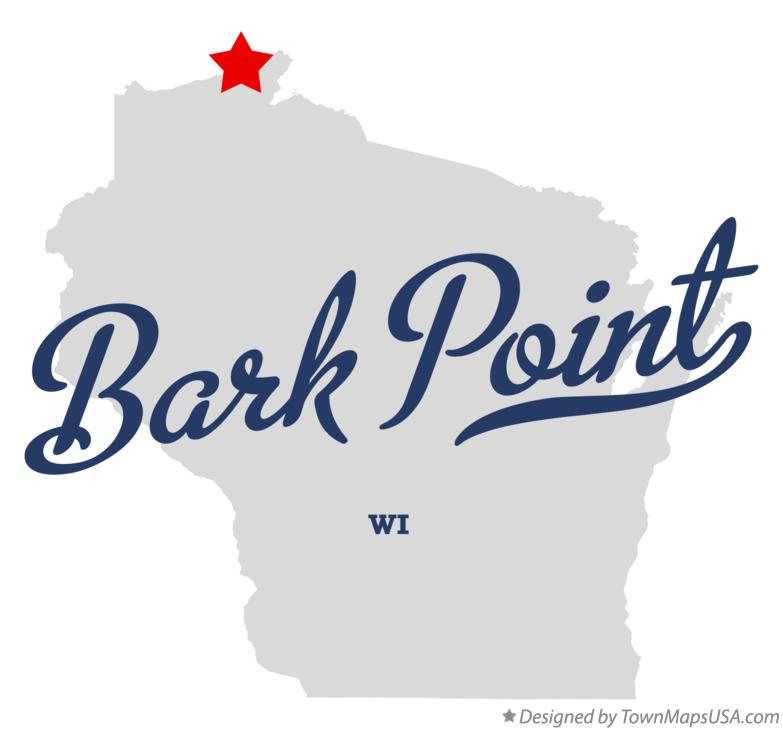 Map of Bark Point Wisconsin WI