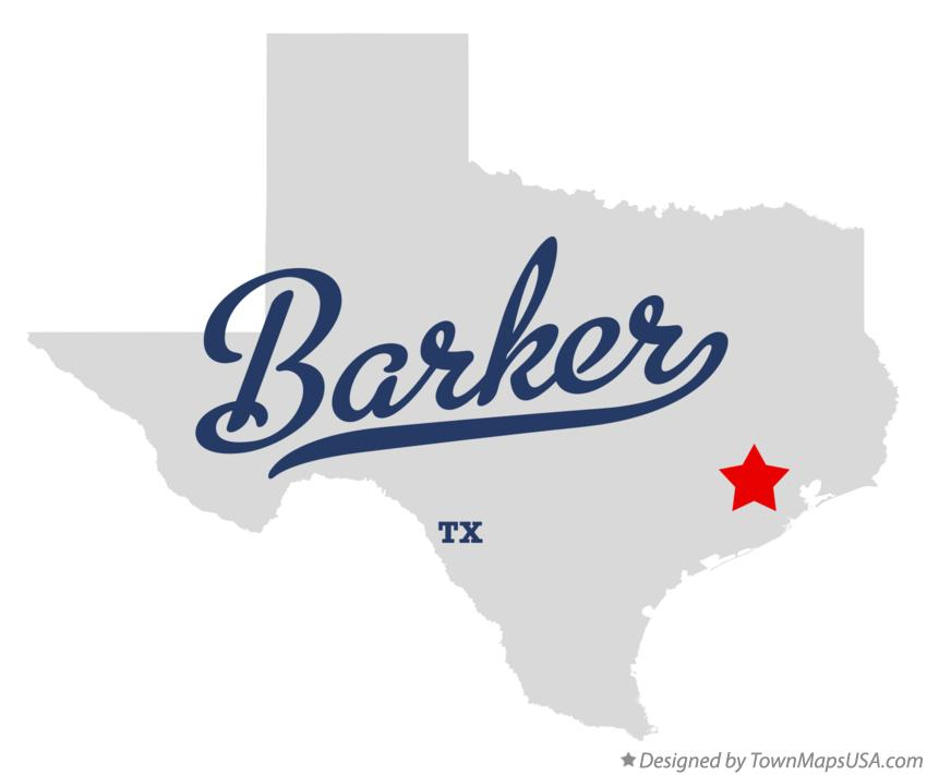 Map of Barker Texas TX