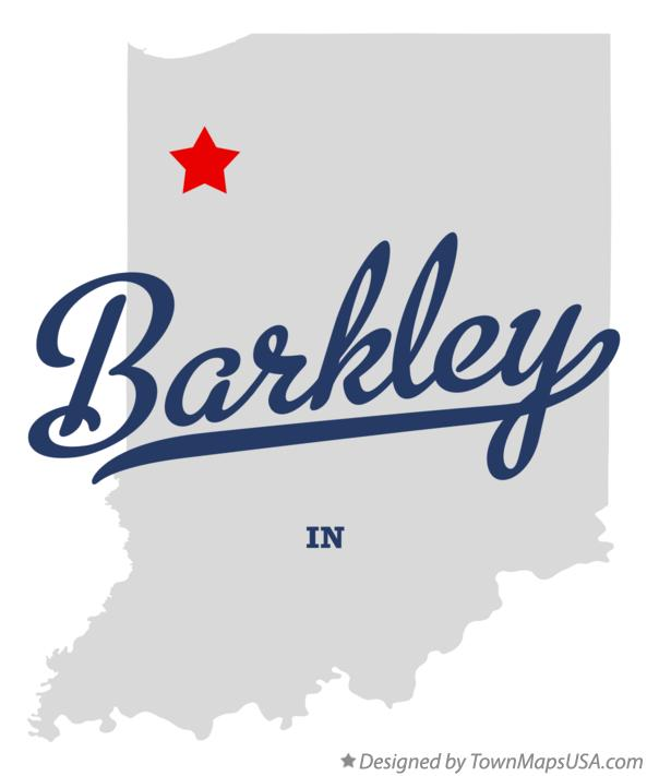 Map of Barkley Indiana IN
