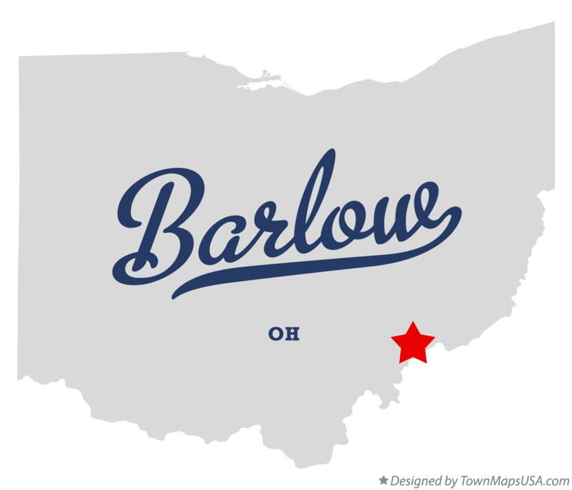 Map of Barlow Ohio OH
