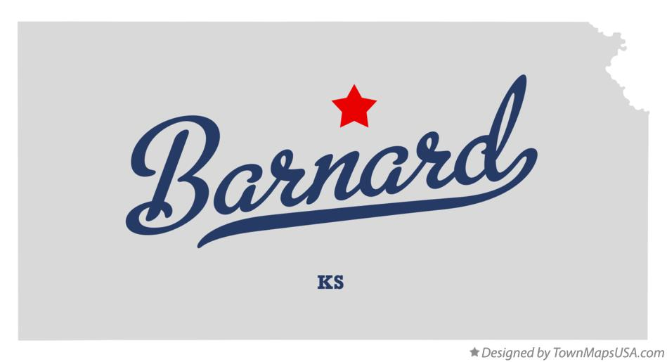 Map of Barnard Kansas KS