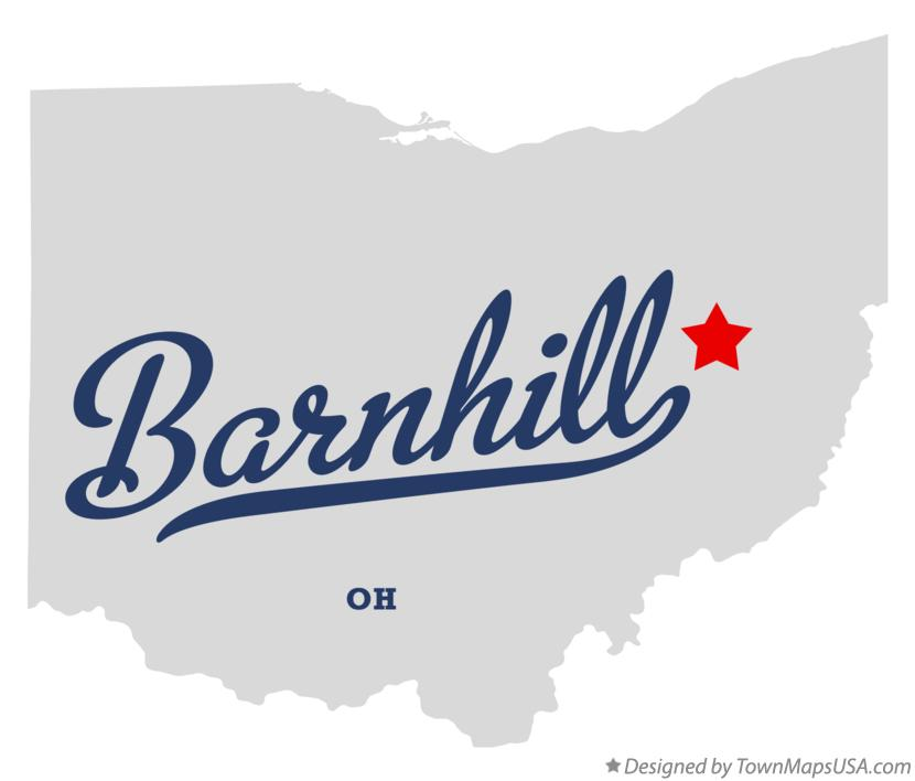 Map of Barnhill Ohio OH