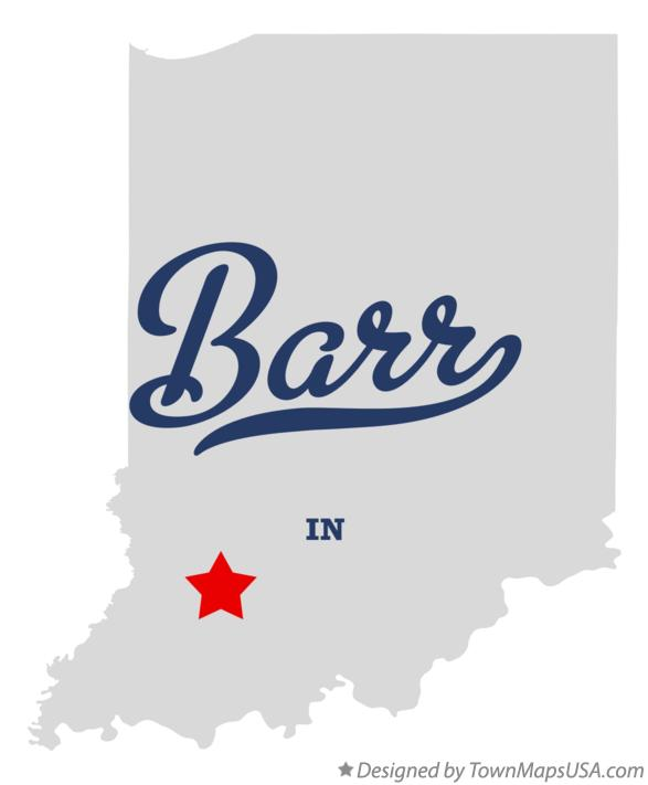 Map of Barr Indiana IN