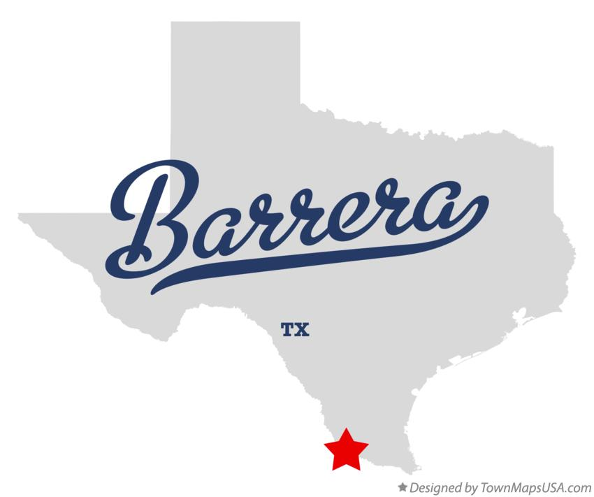 Map of Barrera Texas TX