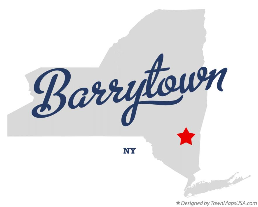 Map of Barrytown New York NY