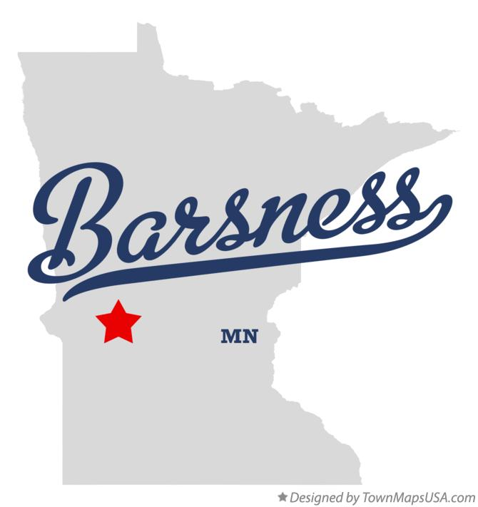 Map of Barsness Minnesota MN